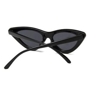 Vintage Cateye Sunglasses Women Sexy Retro Small Cat Eye Sun Glasses Brand Designer Colorful Eyewear For Female Oculos De Sol