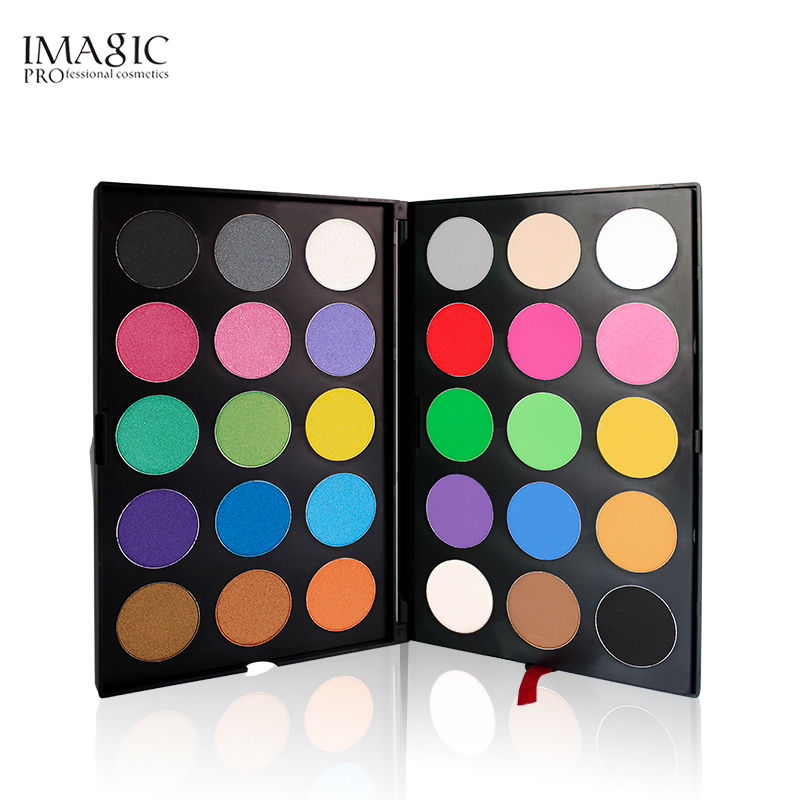 IMAGIC Professional 30 Color Eyeshadow Palette Shimmer Matte eyeshadow Powder Beauty Product Cosmetics Pallete спальный мешок tramp mersey l цвет оранжевый серый левосторонняя молния