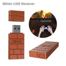 Оригинальный 8bitdo USB Беспроводной Bluetooth адаптер геймпад приемник для Windows/переключатель легкий и компактный размер 29
