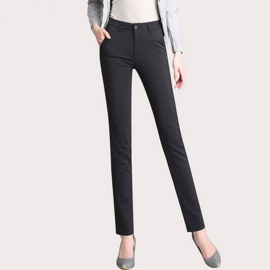 EASY GOING STORE Formal Pencil Pants For Women Work Office Pants Women Blazers Suits Trousers Slim Fit Casual Pantalon Femme