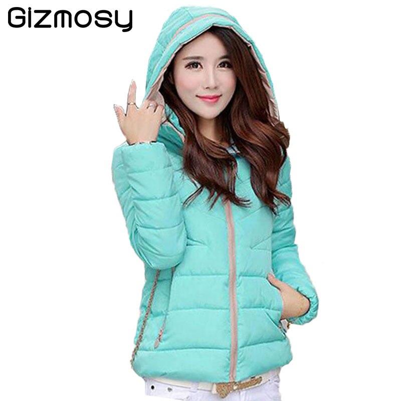 Winter Coat Women Hooded Cotton Down Jacket Snow Wear Parka Jaqueta Feminina Chaquetas Mujer Casacos De Inverno Feminino SY516
