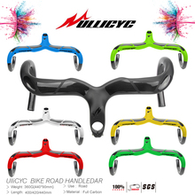 Multicolored colourful Mixed extinction Superstrong(Handlebar with stem) Full Carbon Road Bicycle Bent Bar Free Ship YT-769