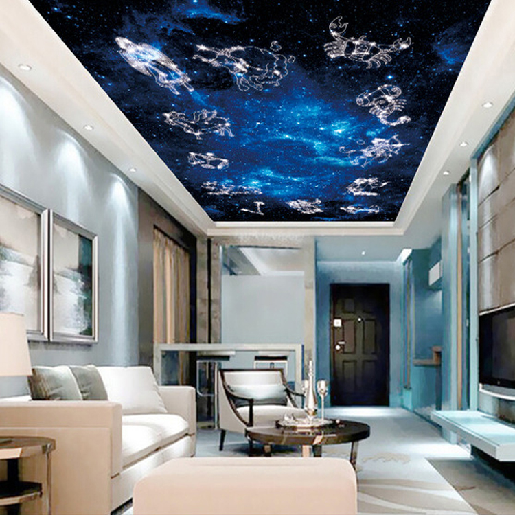 Aliexpress.com : Buy Large Constellation Papel Mural Wall