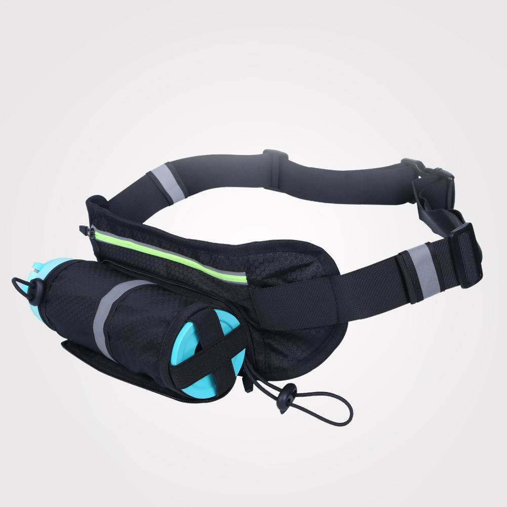 Sports Outdoor Running Fitness Waist Packs Bags Water Bottle