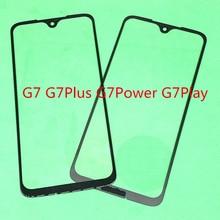 10pcs เปลี่ยน LCD หน้าจอสัมผัสหน้าจอกระจกเลนส์ด้านนอกสำหรับ Motorola Moto G7/G7 Plus/G7 Power /G7 Play