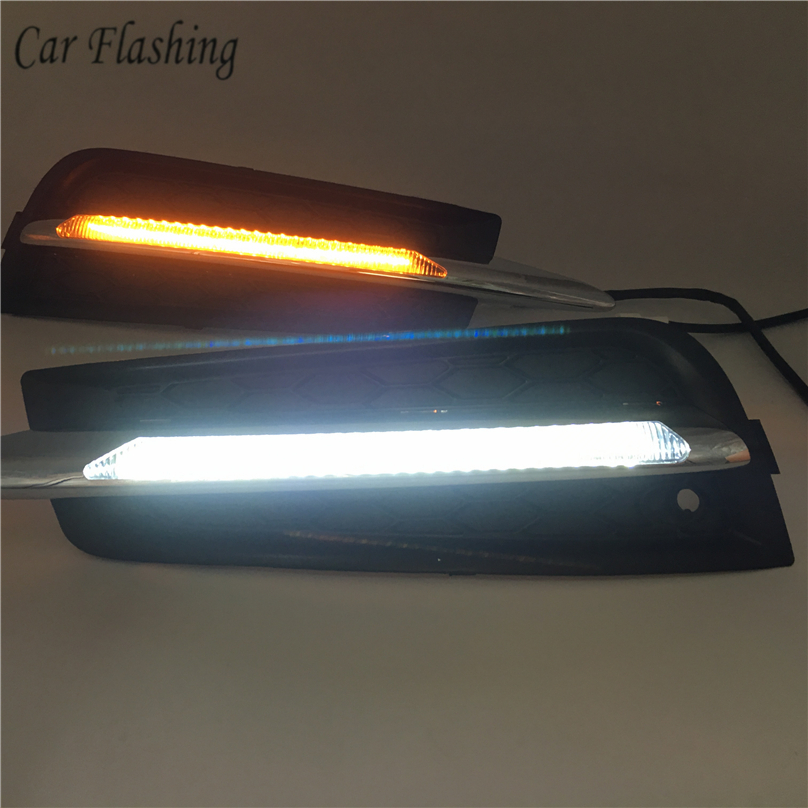 car Flashing for chevrolet cruze 2009 2013 DRL Driving Daytime Running Light fog lamp Relay Daylight