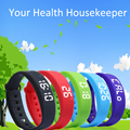 2016 Newest W5S Smart Bracelet Wristband Pedometer Thermometer Sleep Monitor Calorie Burning Tracker Smart Watch Men Women P20