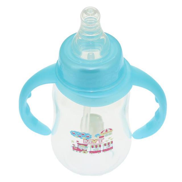 150 ML Garrafas de Leite Do Bebê Alimentação Infantil Minha Garrafa Com Duas Lidar Com Copo