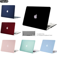 Laptop Case For Apple Macbook Air Pro Retina 11 12 13 15 for Mac Air 13 A1932 A1466 pro13 15 A1707 A1708 shell+ Keyboard Cover стоимость