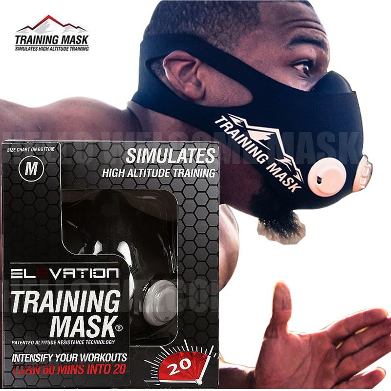 Newest Elevation Training Mask 2.0 (Size: S, M, L) Outdoor Sports Boxing High Altitude Training Mask 2.0 2016 newest elevation training mask 2 0 high altitude fitness outdoor sport 2 0 training mask	supplies equipment