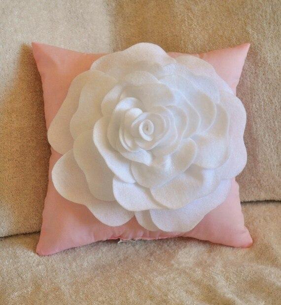 679 new handmade beauty soild rose flower cushion cover cushion 679 new handmade beauty soild rose flower cushion cover cushion cover sofa bed home room dec wholesale in cushion cover from home garden on mightylinksfo