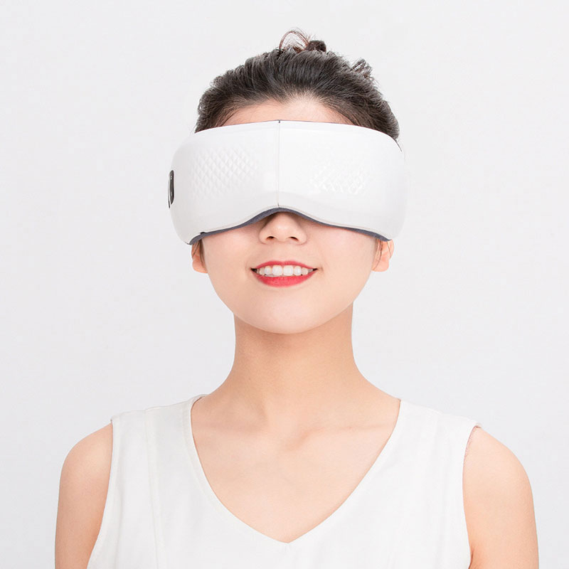 Eye Massager Wireless Charging Mobile USD Power Charging Multifunction Air Pressure Hot Vibration Music Kneading Massage