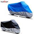 190T Waterproof Breathable Motorcycle Covers Outdoor Copper Buckle Motorcycle Scooter Rain Coat UV Protective For All Motorcycle