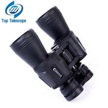 Canon 20X50 Prismáticos telescopio acampa de la caza potente profesional Hd gran angular Zoom Central Portable LLL Visión Nocturna bak4