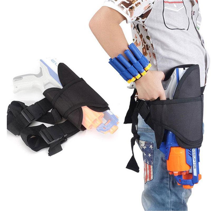 Owls Toy Chest Soft Closing Foam Padded Storage Children S: Toys Gun Bullets Soft Darts Tactical Target Pocket Legs