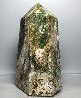1055 г горячая Распродажа фэншуй натуральный кварц кристаллы для здоровья камни океан яшма точки палочка