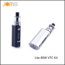 US/RU Stock!! JomoTech Lite 80w Variable Wattage Vape Mod Jomo Lite 80 Electronic Cigarette Kit VW 5-80w E Cig Box Mods Jomo-130