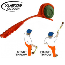 Brand YUETOR clay handheld target thrower without target thrower archery hunting shooting bows and arrows