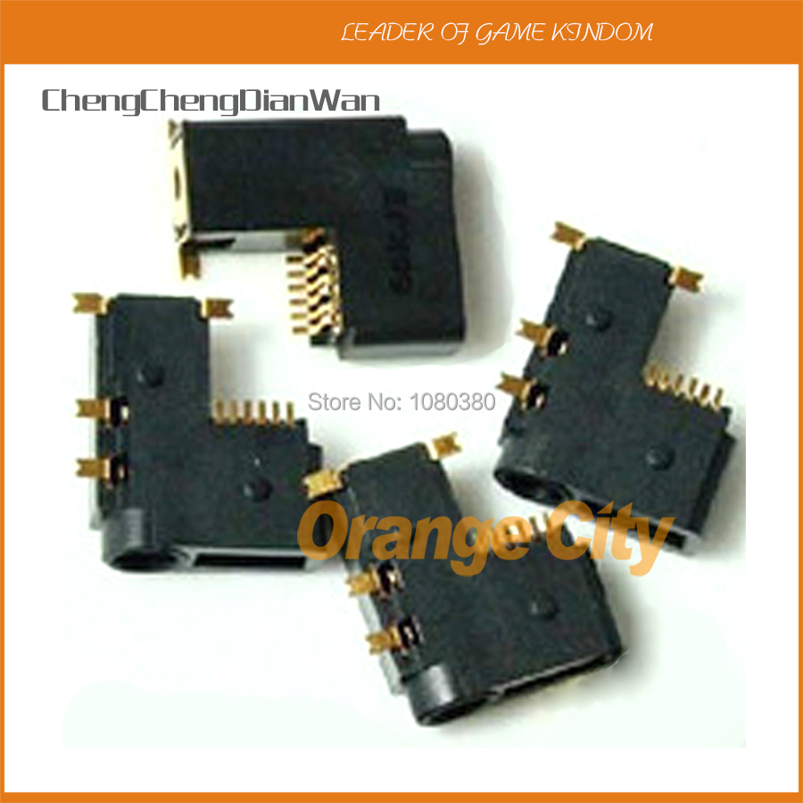 ChengChengDianWan Headset Connector Part Headphone Jack Headset Socket Replacement for PSP1000 PSP 1000 Game Console 10pcslot