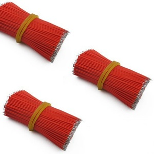 100PCS 50MM 5CM Red Connector