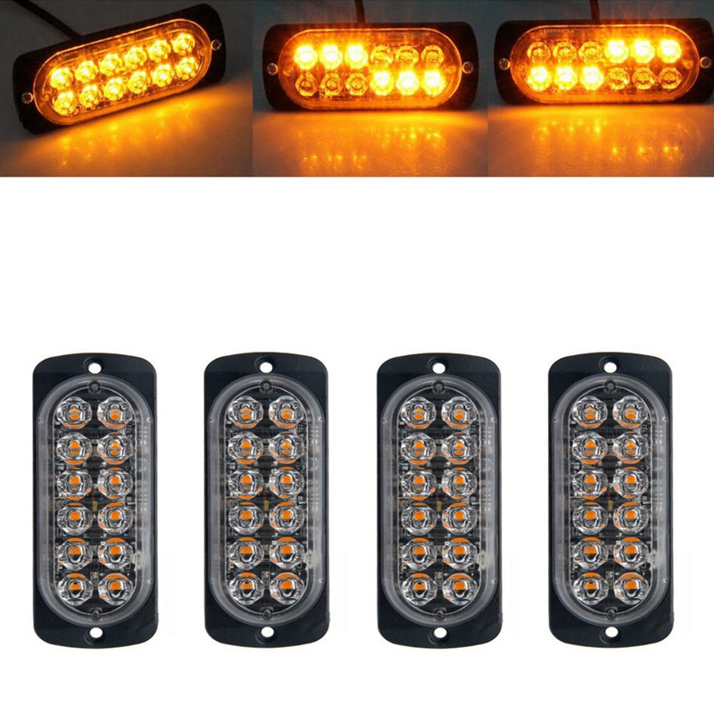 FLASHING BEACON 60 LED LIGHT ORANGRECOVERY STROBE AMBER  BREAKDOWN BOLT FIX