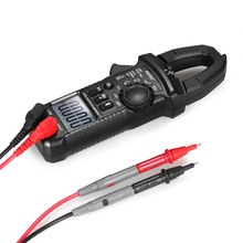 Professional Digital Clamp Meter True RMS LCD Multimeter clamp meter AC/DC Voltage AC Current Continuity Tester цена и фото