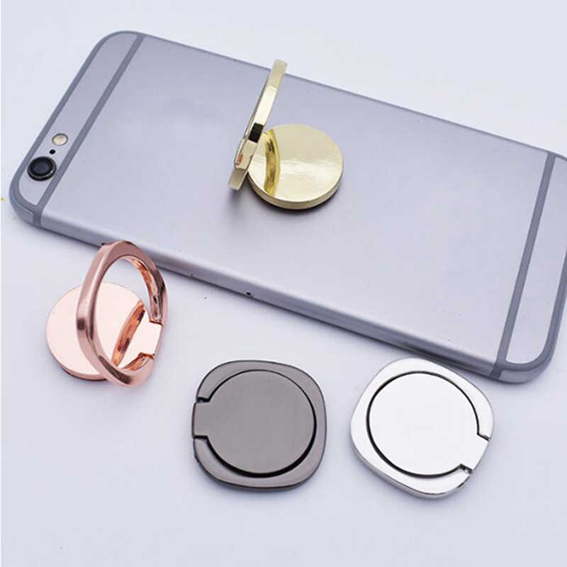 General Phone Finger Ring Holder 360 Degree Stand For Samsung Xiaomi iPhone X 7 6 55 5S Plus Smartphone Tablet Plain Bague