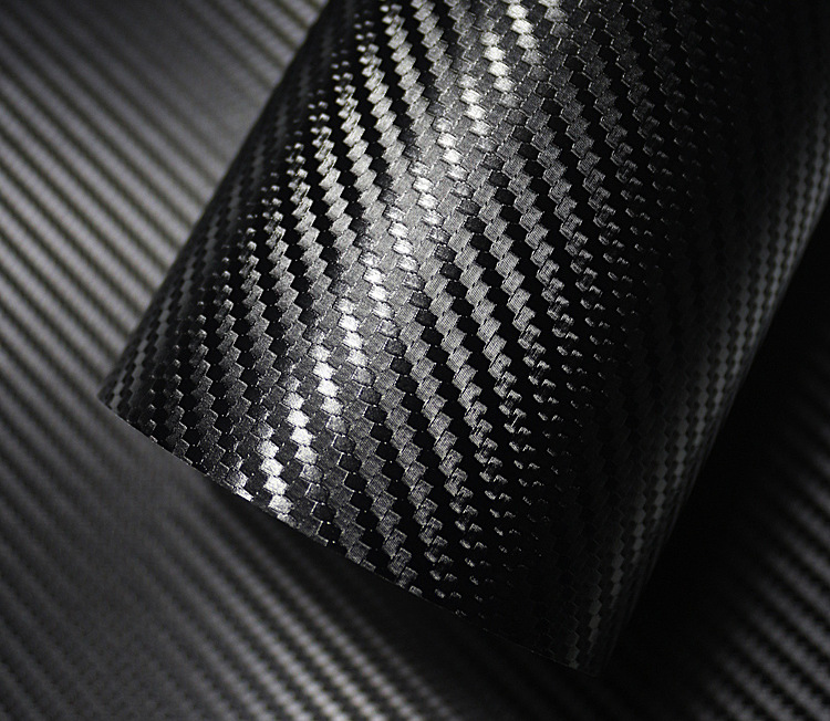 500mmx2000mm 3D Carbon Fiber Vinyl Film Car Sticker Waterproof Car Styling Wrap Auto Vehicle Detailing Accessories Motorcycle