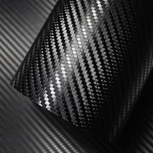 500 мм x 2000 мм 3D виниловая пленка из углеродного волокна для автомобиля, водостойкая пленка для стайлинга автомобиля, аксессуары для автомобиля, аксессуары для мотоцикла
