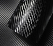 500mm x 2000mm 3D Carbon Faser Vinyl Film Auto Aufkleber Wasserdicht Auto Styling Wrap Auto Fahrzeug Detaillierung zubehör motorrad