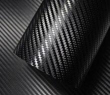 500mm x 2000mm 3D 탄소 섬유 비닐 필름 자동차 스티커 방수 자동차 스타일링 랩 자동차 자동차 자세히 액세서리 오토바이