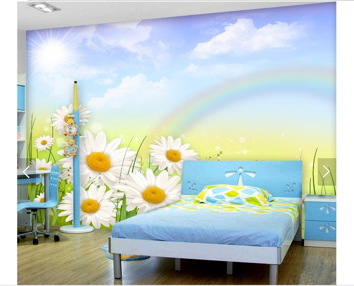 Online get cheap sunflower wall murals for Cheap wall mural wallpaper