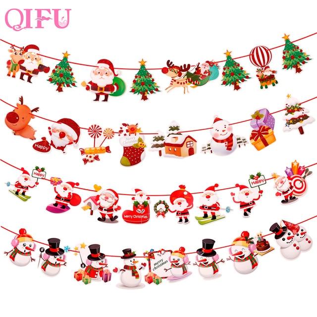 QIFU 2 M Di Natale Decorazione Per La Casa 2018 Albero di Ornamenti di Santa Pup