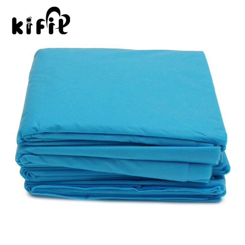 Kifit 20pcs Disposable Nonwovens Waterproof And Anti Oil Fitted Bed