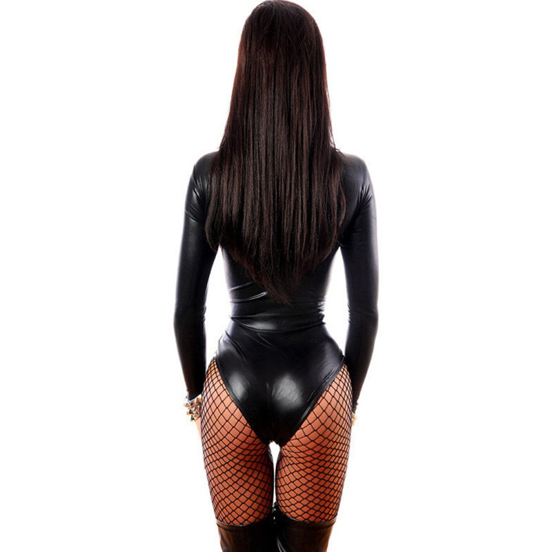 Top SaleErotic Lingerie Costumes Latex Baby-Doll Underwear Women Porn Sex Dance-Club Sexy Hot-Pole