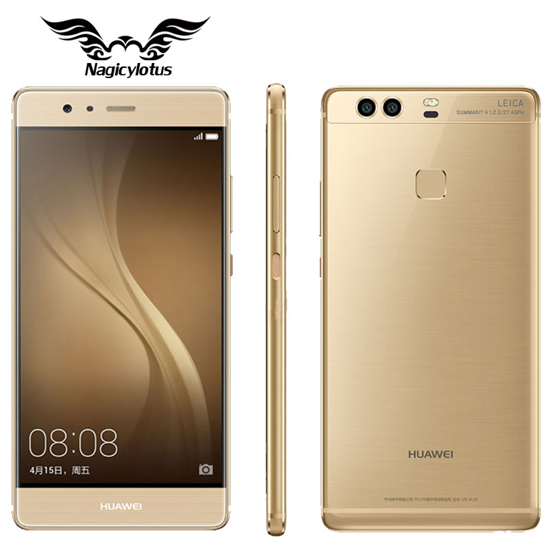 Original Huawei P9 Plus VIE-AL10 4GB RAM 128GB/64GB ROM Cell Phone Android 6.0 Kirin 955 Octa Core 5.5 inch Dual SIM LTE 12.0MP