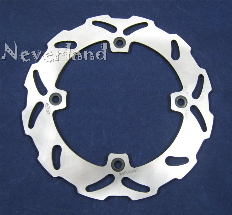 New arrival Motorcycle Rear Brake Disc Rotor for Suzuki DR 250 350 S SH SE DR250 DR350 drop ship C50 motorcycle stainless steel 220mm rear brake disc rotor for kawasaki kdx125 kdx200 kdx 220 250 klx250 klx300 suzuki lx250 250 sb