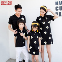 New Like A Boss Papa Baby Family Matching Clothing Girl Dress For Mother And Daughter Boy