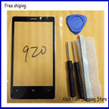 100% Original para Nokia lumia 920 vidro + ferramentas de reparo adhensive. De