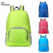20L Foldable Backpack Lightweight Waterproof Nylon Women Men Bag Pack Travel Outdoor Sports Camping Hiking Bag