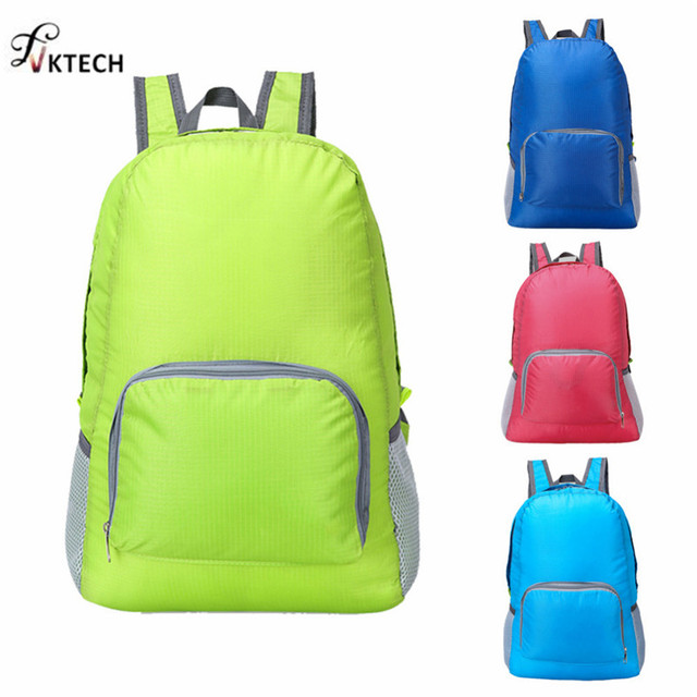 f0ad75a6e9 20L Foldable Backpack Lightweight Waterproof Nylon Women Men Bag Pack  Travel Outdoor Sports Camping Hiking Bag Rucksack