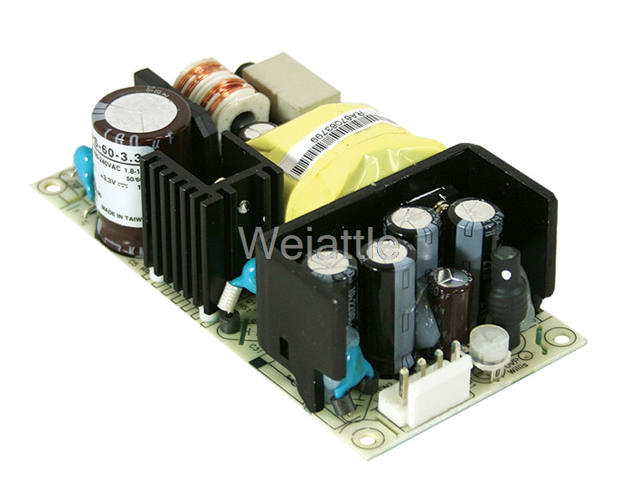 MEAN WELL original RPS-60-24 24V 2.5A meanwell RPS-60 24V 60W Single Output Medical TypeMEAN WELL original RPS-60-24 24V 2.5A meanwell RPS-60 24V 60W Single Output Medical Type