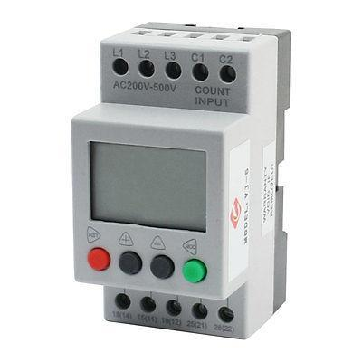 VJ5 LCD Display Phase Failure Sequence Unbalance Protective Relay vj5 lcd display phase failure sequence unbalance protective relay 3 phase and voltage relay