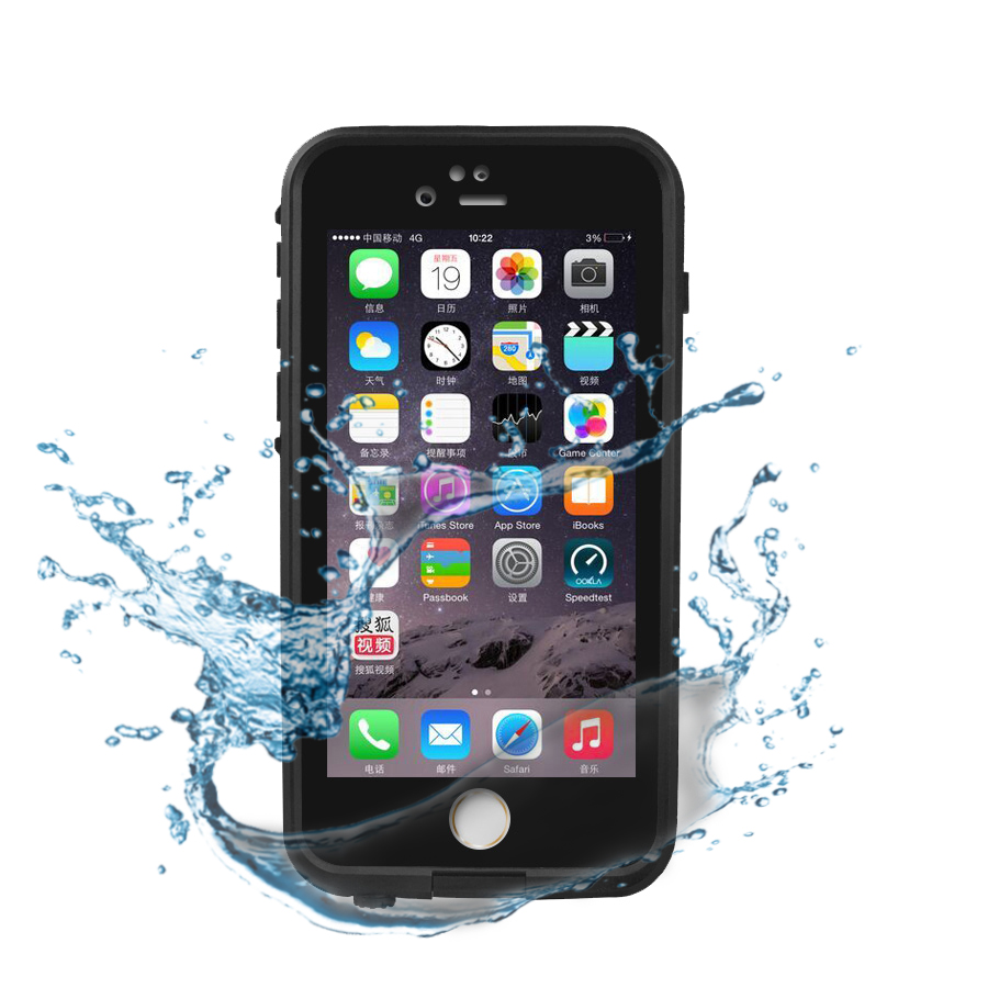 imágenes para IP68 A Prueba de agua A Prueba de Golpes Caso de la Cubierta Protectora para el iphone 5 5S 5tilizar 4 inch Heavy Duty Caso con protector de Pantalla Táctil ventana