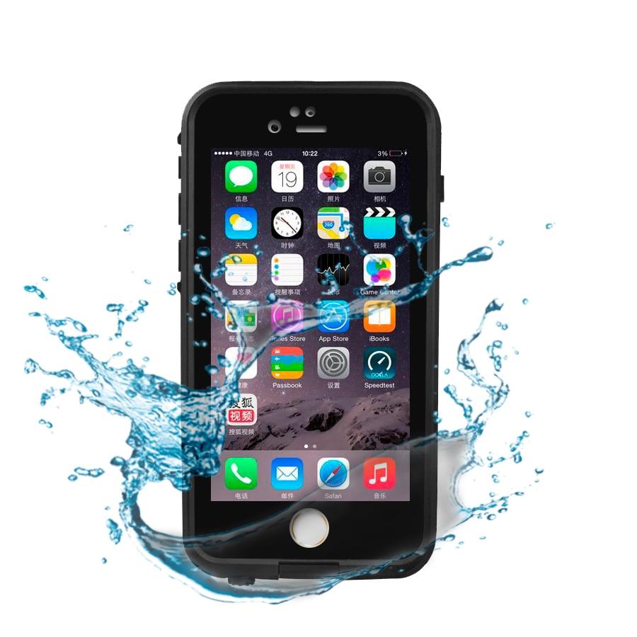 bilder für IP68 Wasserdicht Stoßfest Schutzhülle Abdeckung für iPhone 5 5 S 5se 4 zoll Schwere Fall mit Touchscreen schutz Fenster
