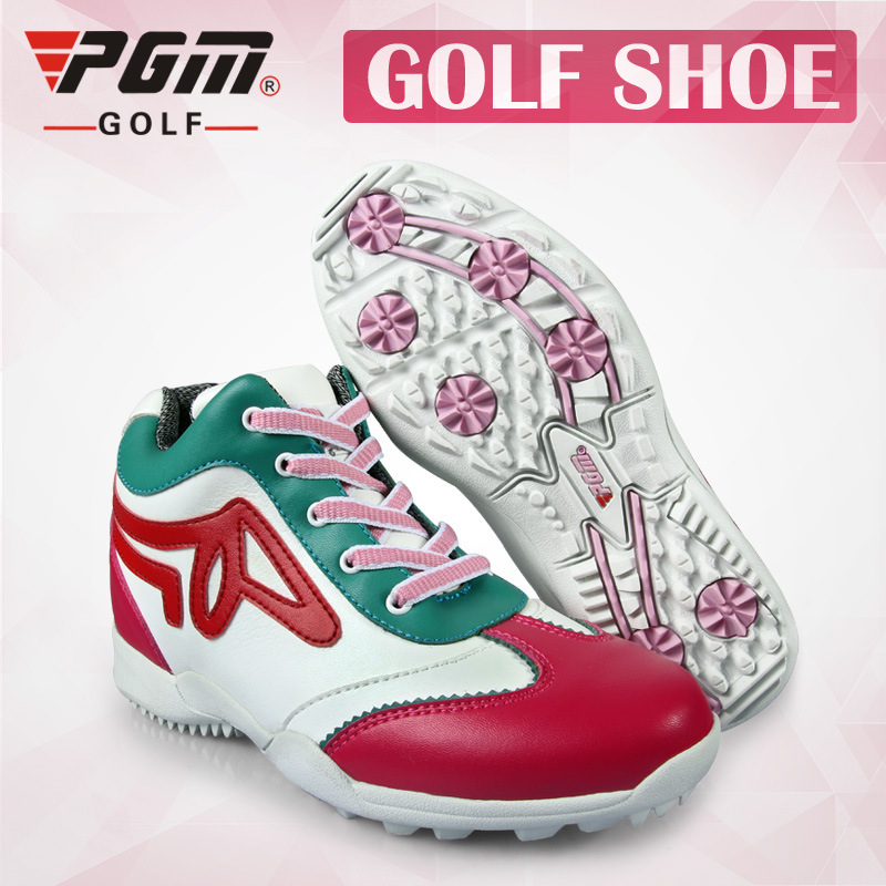 PGM authentic golf shoes breathable waterproof high-top shoes sneakers women sports shoes freeshippingPGM authentic golf shoes breathable waterproof high-top shoes sneakers women sports shoes freeshipping
