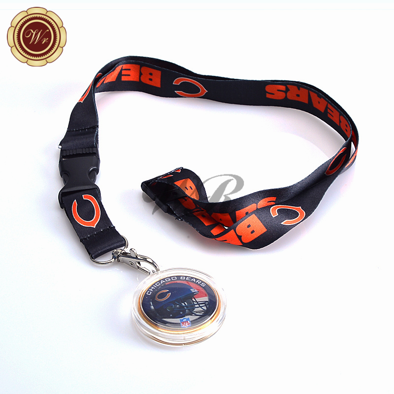 Chicago Bears Neon Green Neon Lanyard