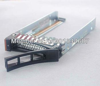 High Quality 44T2216 / 46M6323 2.5 SAS SATA HDD Hard Disk Drive Tray Caddy for IBM X3550 3650 3500 3400 M2 M3 M4 HS12 HS22