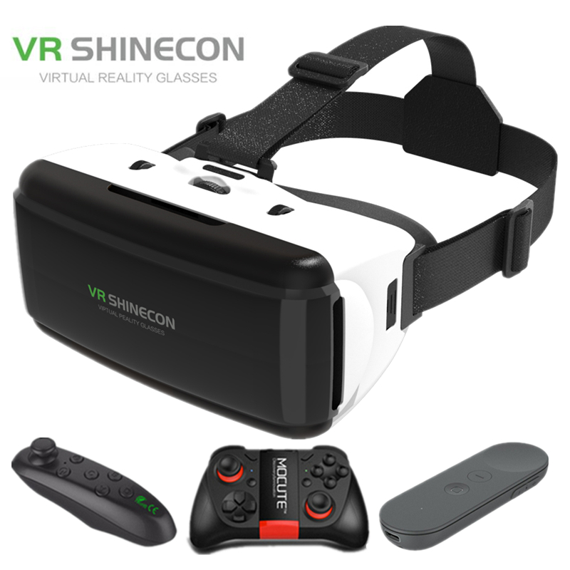 <font><b>VR</b></font> Shinecon G06 helmet 3D virtual reality <font><b>glasses</b></font> <font><b>for</b></font> the iPhone Android Smartphone smartphone <font><b>glasses</b></font> Android image