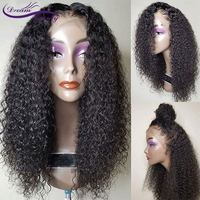 Curly Lace Front Wig 130% Density Glueless Lace Front Human Hair Wig With Baby Hair 13x3 Normal Part Brazilian Remy Dream Beauty